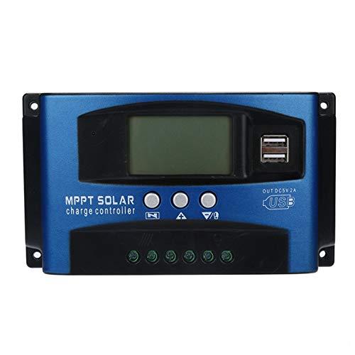 40/50 / 60A MPPT Solar Panel Regler Laderegler 12 V / 24 V Autofokus Tr Ladegerät Signalgeber Solar Panel Regler USB