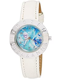 Disney Analog Blue Dial Girl's Watch - AW100446