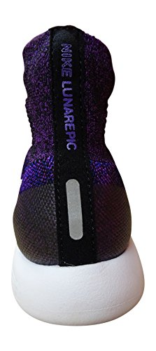 Bianco Di Vivido viola Negro cncrd Scarpe Nera nero Donna Lunarepic In Esecuzione Formazione Flyknit Wmn Nike 7qBTff