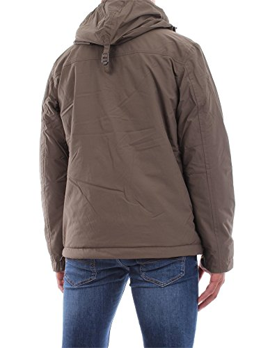 Napapijri Rainforest Pullover Jacke Grün Grau