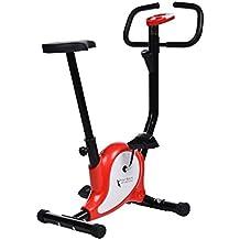 Befied Bicicleta estática de Spinning Fitness el Asiento ajustable y la pantalla LED hogar
