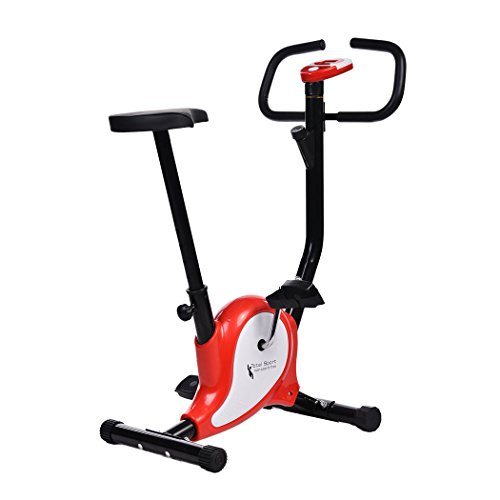 Ancheer Upright Exercise Bike, Cardio Bike Cycle Machine with Resistance