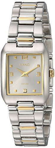 ROBERTO BIANCI WATCHES Women's 'Classico' Swiss Quartz Stainless Steel Casual Watch, Color:Two Tone (Model: RB36100)