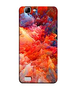 PrintVisa Designer Back Case Cover for Vivo X3S (Abstract Alien Art Concept Fractal Cosmos Creative Beautiful Creativity)