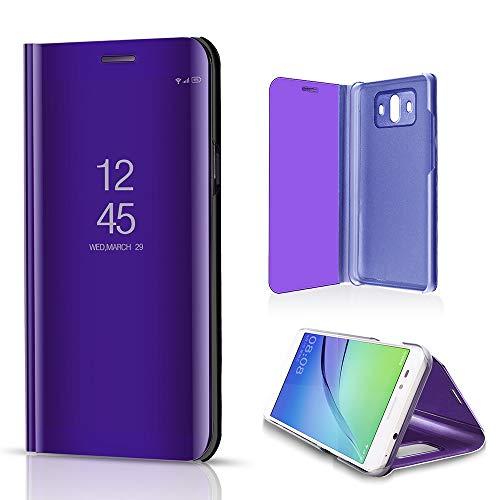 Momoxi Phone Accessory Huawei Handyhülle Handy-Zubehör Spiegelbeschichtung Schlaf Aufwachen flip Leder Stehen Case Abdeckung für Huawei Mate 10 lite hülle