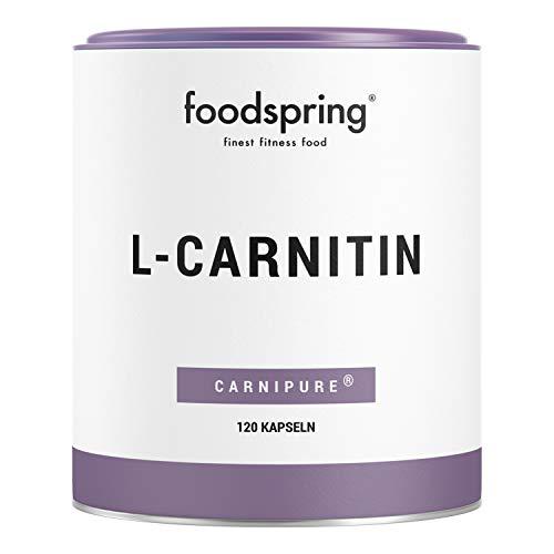Foodspring L carnitina ideale per trasformare il grasso in energia per il tuo allenamento