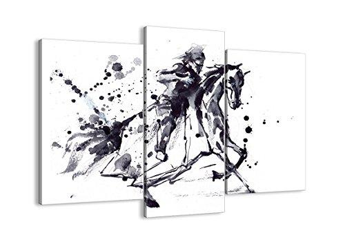 Kostüm Zeitraum Renaissance - Bild auf Leinwand - Leinwandbilder - DREI Teile - Breite: 130cm, Höhe: 100cm - Bildnummer 2985 - dreiteilig - mehrteilig - zum Aufhängen bereit - Bilder - Kunstdruck - CB130x100-2985