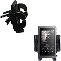 Gomadic Air Vent Clip Based Cradle Holder Car / Auto Mount suitable for the Sony Walkman A30 - Lifetime Warranty