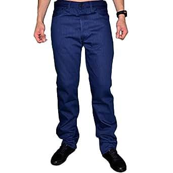 Levis - Jean - Homme - 501 Shrink-to-fit Cartonné - Cobalt Blue - Bleu Marine - W42 L34