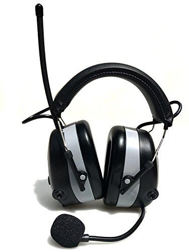 2017 DS-Alert EARMUFF dynamischer 31dB Gehörschutz mit BLUETOOTH und Surround Umgebungswahrnehmung - Extra robuster Radio Kapsel Gehörschutz Kopfhörer mit SmartPhone Anschluss inkl. AUX Kabel - 8