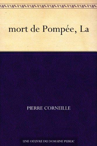 Couverture du livre mort de Pompée, La