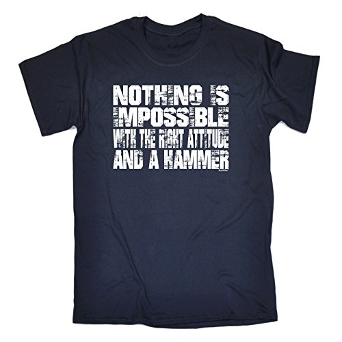 fonfella-mens-nothing-is-impossible-attitude-and-a-hammer-3xl-navy-loose-fit-t-shirt