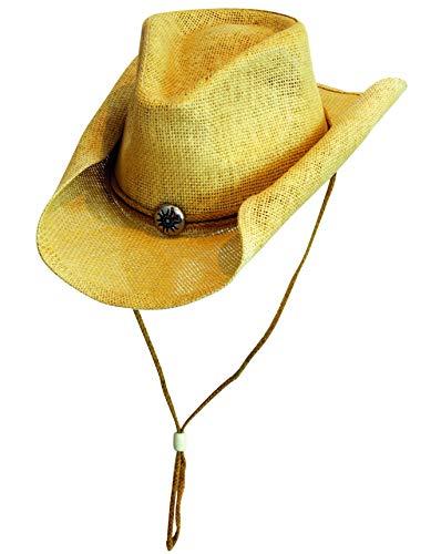 Scippis - Chapeau western - Homme Marron Naturel