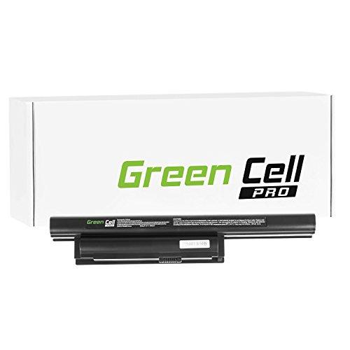 Green Cell PRO Serie Batteria per Portatile Sony Vaio PCG-71313M (Le Pile Originali Samsung SDI, 6 Pile, 5200mAh, Nero)