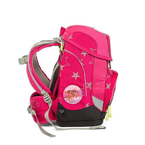 ERGOBAG CinBärella Kinder-Rucksack, 40 cm, Pinke Sterne