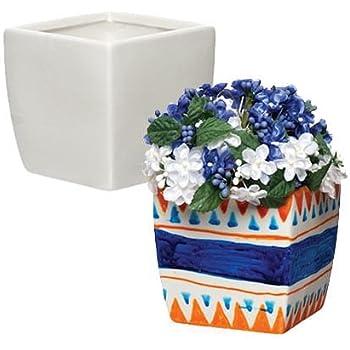 Baker Ross Keramik Blumentopfe Schnecke Fur Kinder Zum Gestalten