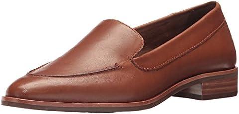 Aerosoles Women's East Side Loafer, Dark Tan Leather, 12 M US