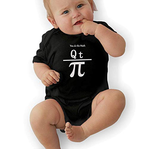 FAFANIQ You Do The Math QT Pi Unisex Baby Short Sleeve Bodysuit-0-3M -