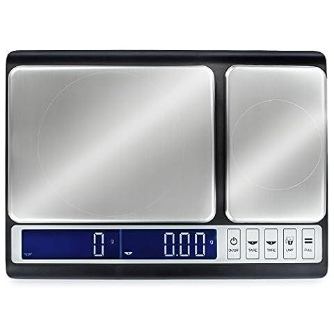 Smart Weigh Kulinarische Küchenwaage 10kg x 0,01g,