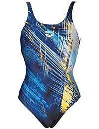 Schwimmen arena Fluids One Piece Swimsuit Women navy-persian green 2018 Schwimmanzug blau