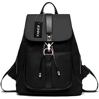 Tibes Waterproof Backpack Fashion Nylon Backpack For Girls