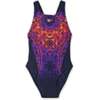 Speedo Women Lava Lightening Record Breaker Swimsuit