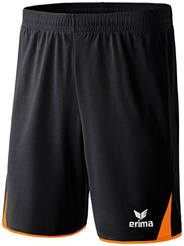 erima Herren Classic 5-C Shorts schwarz/orange L