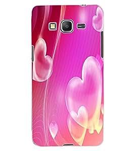 ColourCraft Love Hearts Design Back Case Cover for SAMSUNG GALAXY GRAND PRIME DUOS TV G530BT