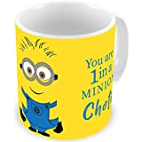 Illuminati Gifts You Are 1 In A Minion Choti Special Design Printed Multicolor Ceramic Coffee Mug - 325 Ml Rakhi Raksha Bandhan Gift For Sister, Rakshabandhan Return Gift For Sister