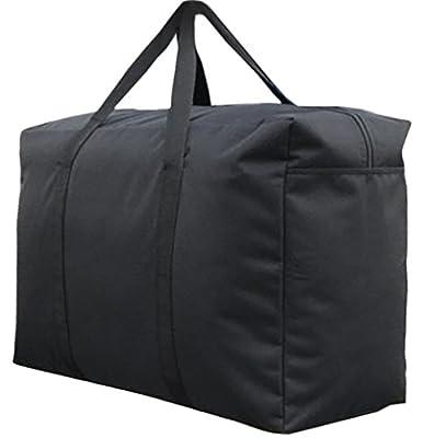 Handy Storage Bag Extra Large Waterproof Heavy Duty 600D Oxford Jumbo Storage Bag with Web Handle,Bedding Underbed Storage Bag,Blankets Duvet Chest,Season Laundry Organizer-Size 85*55*33CM