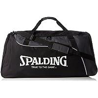 Spalding Sporttasche Sportsbag - Bolsa para material de baloncesto (grande), color negro, talla 67 x 38 x 33 cm