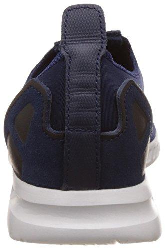 Adidas Zx Flux Adv Smooth Slip On Donna Sneaker Blu Blau