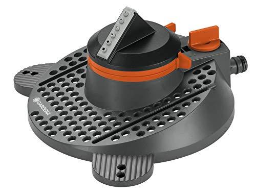 Gardena Arroseur Rotatif et Sectoriel Tango Comfort Arroseur Rotatif 2 en 1 : Arroseur Rotatif et Sectoriel, Débit d'Eau et Portée du Jet Réglables, pour des Surfaces de Jusqu'à 310 M² (2065-20)