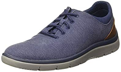 Clarks Men's Tunsil Ace Navy Sneakers