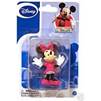 1 X Disney Minnie Mouse Toy Figurine, Collectible or Cake Topper by Beverly Hills