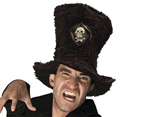 Alsino Fun Karnevalshut Doktor Matrosen Polizei Hut Herren Faschingshut Damen Partyhut , wählen:Hut schwarz 00897