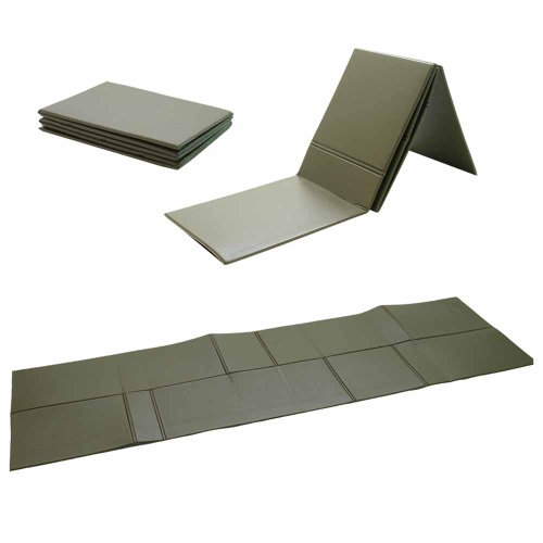 BW ISO MAT FOLDABLE 190X60X0 5 CM OLIVE