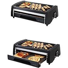 2 in1 Barbacoa Eléctrica y mini horno de pan – Multi Grill Autobús (superficie de