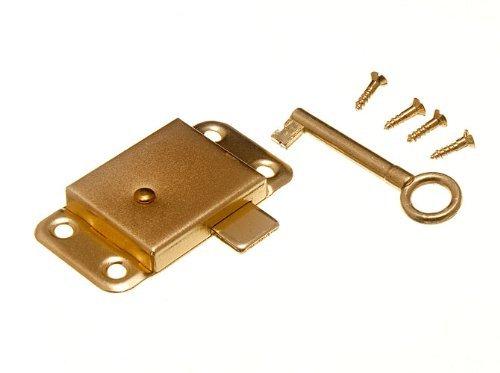 Kleiderschrank Schrank Schubladenschrank Türschloss & Key 63mm + Schrauben (Packung 100)