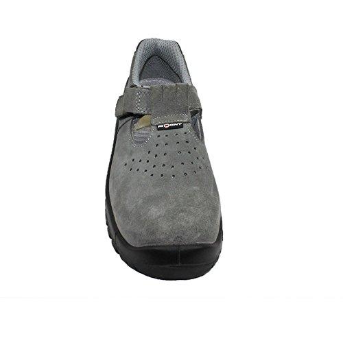 Aimont igea s1 sRC chaussures berufsschuhe 00823 chaussures plates Noir - Noir