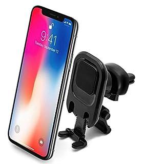 Power Theory Handyhalter fürs Auto - Magnet Handyhalterung für iPhone XS Max X 8 7 Plus 6s 6 SE 5s 5 Samsung Galaxy S9 S8 S7 Edge S6 Lüftung Halterung Smartphone Handy Halter Universal Autohalterung