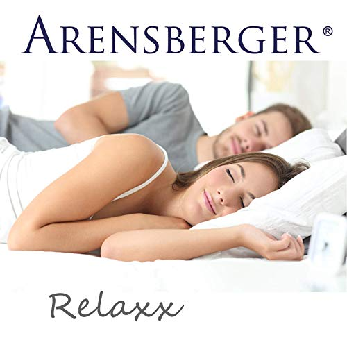 Arensberger Relaxx 9 Zonen Wellness Matratze mit 3D-Memory Foam, 140 cm x 200cm, Höhe 25cm, Raumgewicht 50 kg/m³, drei Schichten: Kaltschaum + Visco Smart Schaum + Gel Schaum - 6