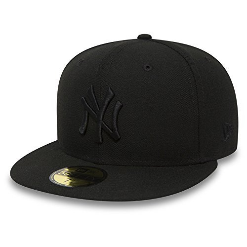 New Era 59Fifty Cap mit UD Bandana New York Yankees Black/Black #2841 - 7 5/8 -