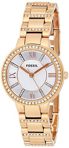 Fossil Reloj Analógico para Mujer de Cuarzo con Correa en Acero Inoxidable ES3284