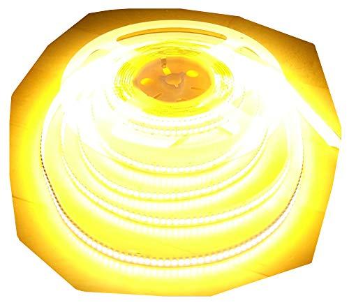 ULTRA HIGHPOWER LED STRIP STRIPE STREIFEN LEISTE 1200LED in einer Reihe 5mt warmweiß warm weiss weiß 24Volt (ohne Netzteil), 5300Lumen