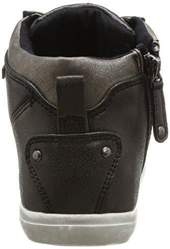 Kaporal Lanista, Baskets mode femme Noir (8 Noir)