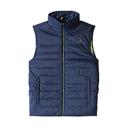 Adidas Padded Weste F95492 blau, Größe:M
