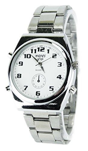 elegante schlichte und klassische Metall Armbanduhr für Sie und Ihn Ox19