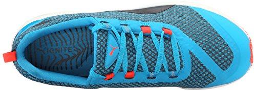 Puma Ignite Xt Nucleo scarpa da running Atomic Blue/Black/Red