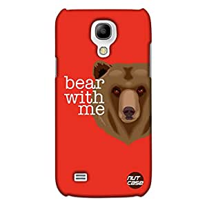 Bear With Me -Nutcase Designer Samsung Galaxy S4 Mini Mobile Case Cover
